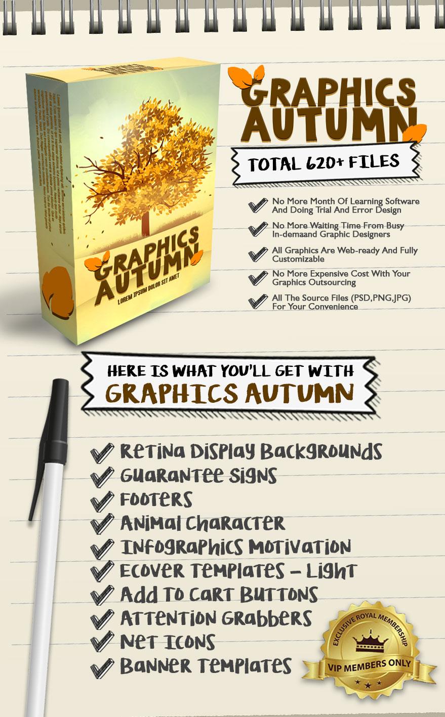 Exclusive Bonus Graphics Autumn