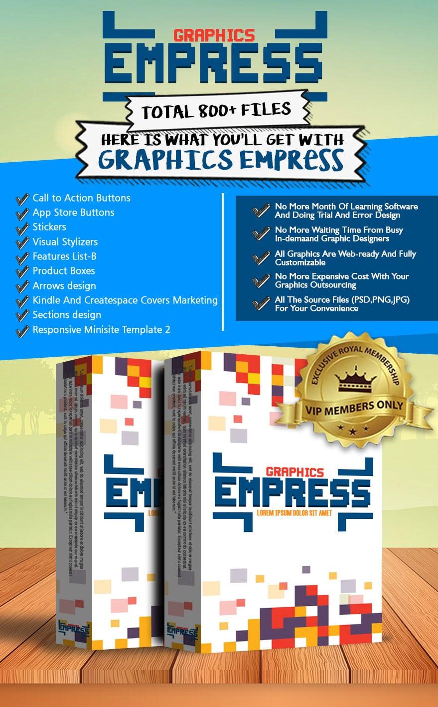 Exclusive Bonus Graphics Empress