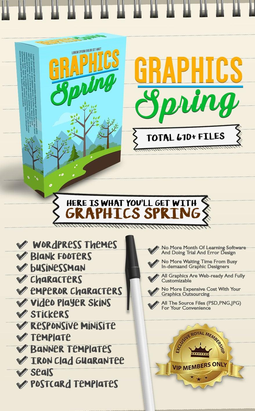 Exclusive Bonus Graphics Spring