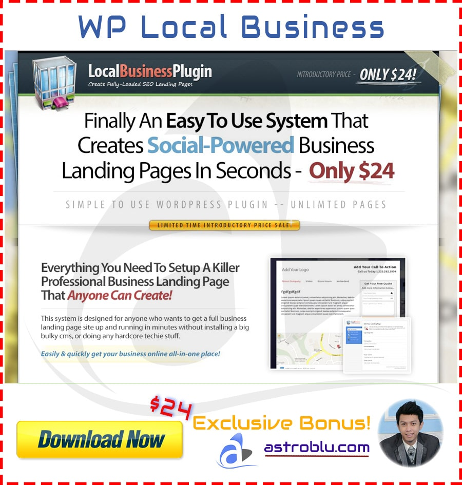 Exclusive Bonus WP Local Business Plugin